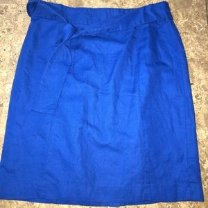 Royal blue pencil skirt- Never Worn